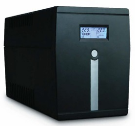 UPS Braun 650VA LCD DISPLAY