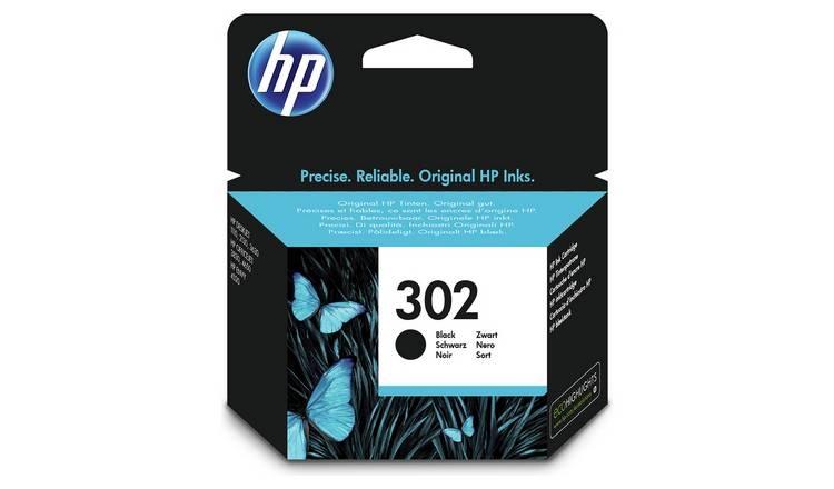 Tinta HP 302 black original