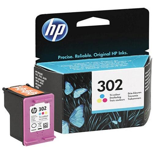 Tinta HP 302 color original