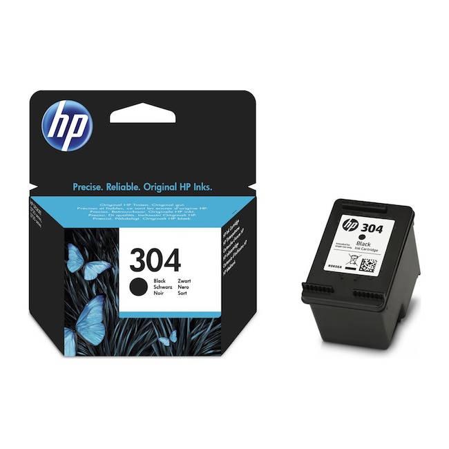 Tinta HP 304 black original