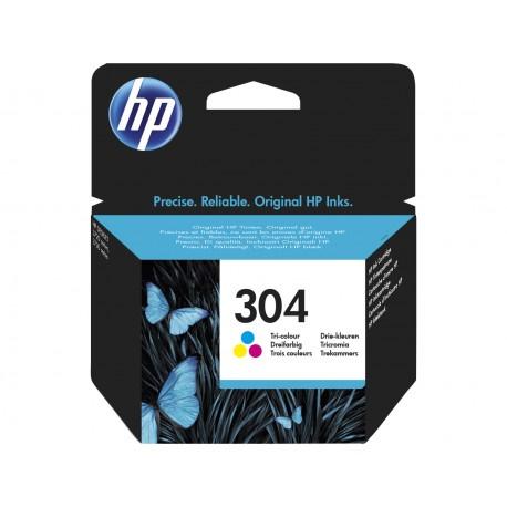 Tinta HP 304 color original