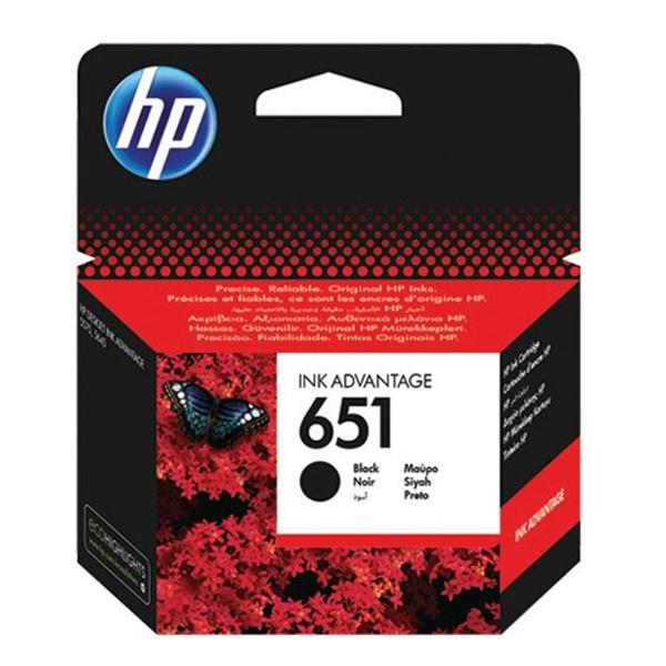 Tinta HP 651 black original
