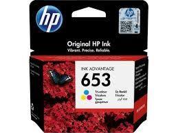 Tinta HP 653 color original
