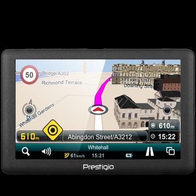 GPS NAVIGACIJA Prestigio Geovision 5066
